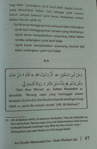 Buku Kitab Tauhid Dilengkapi Faedah Faedah Ayat Hadits Atsar isi 4
