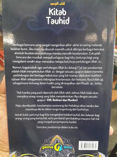 Buku Kitab Tauhid Syaikh Muhammad At-Tamimi Cover 2