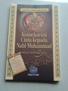 Buku Konsekuensi Cinta Kepada Nabi Muhammad cover 2
