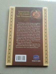 Buku Konsekuensi Cinta Kepada Nabi Muhammad cover