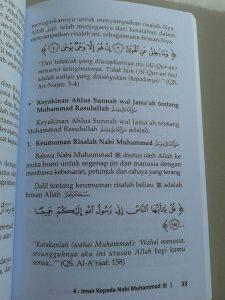 Buku Konsekuensi Cinta Kepada Nabi Muhammad isi 4