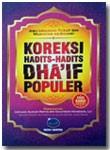 Buku Koreksi Hadits-Hadits Dha'if Populer