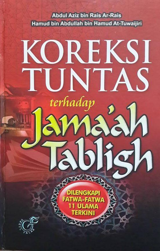 Buku Koreksi Tuntas Terhadap Jamaah Tabligh Cover