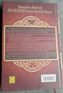 Buku Kumpulan Khutbah As-Sudais Imam Masjidil Haram cover 2