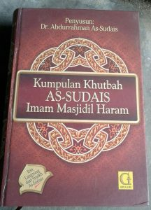 Buku Kumpulan Khutbah As-Sudais Imam Masjidil Haram cover