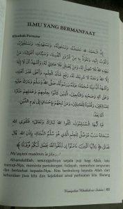 Buku Kumpulan Khutbah As-Sudais Imam Masjidil Haram isi 3