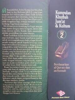 Buku Kumpulan Khutbah Jumat Dan Kultum 2 Cover 2