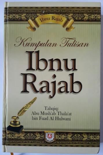 Buku Kumpulan Tulisan Ibnu Rajab Cover