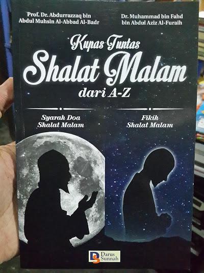 Buku Kupas Tuntas Shalat Malam Dari A-Z Cover