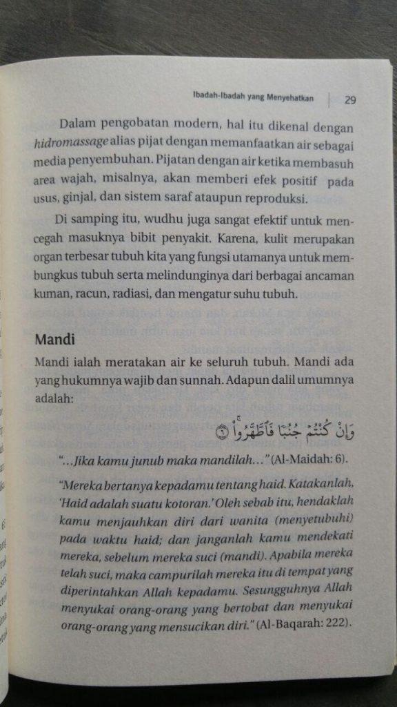 Buku La Tahzan For The Sick Bahagia Saat Sakit isi 2