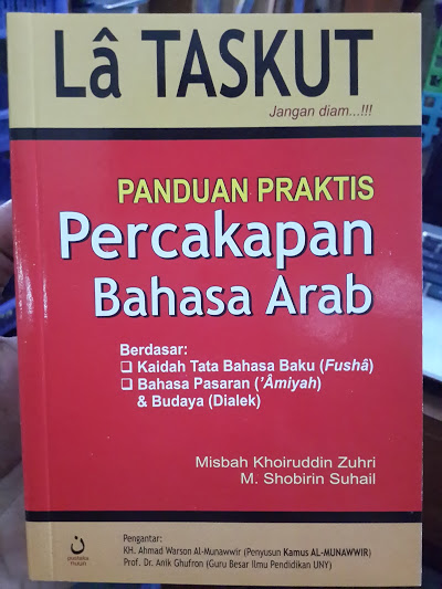 Buku La Taskut Panduan Praktis Percakapan Bahasa Arab Cover