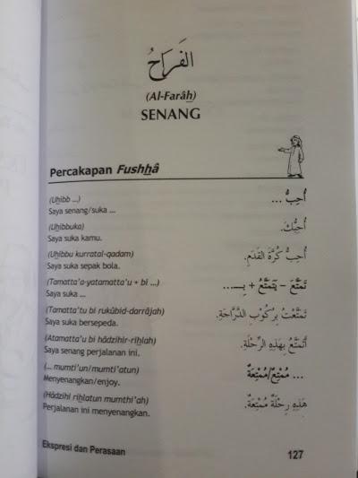 Buku La Taskut Panduan Praktis Percakapan Bahasa Arab Isi