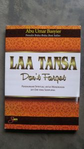 Buku Laa Tansa Don't Forget cover