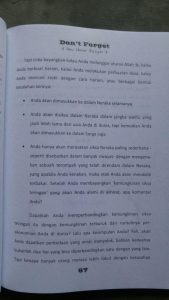 Buku Laa Tansa Don't Forget isi 2