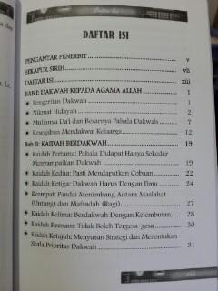 Buku Langkah Praktis Mendakwahi Keluarga Daftar Isi