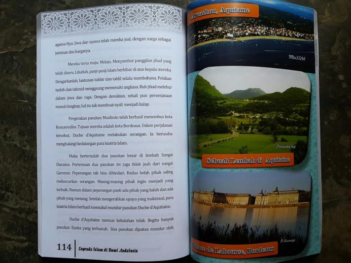 Buku Legenda Islam Di Bumi Andalusia Isi