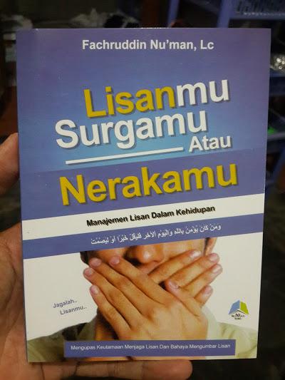 Buku Lisanmu Surgamu Atau Nerakamu Cover