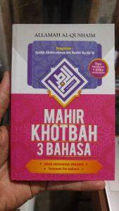 Buku Mahir Khotbah 3 Bahasa: Arab - Indonesia - Inggris cover