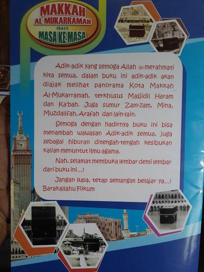 Buku Anak Makkah Al-Mukarramah Dari Masa Ke Masa Cover 2