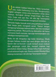 Buku Manajemen Umur Resep Sunnah Menambah Pahala Dan Usia cover