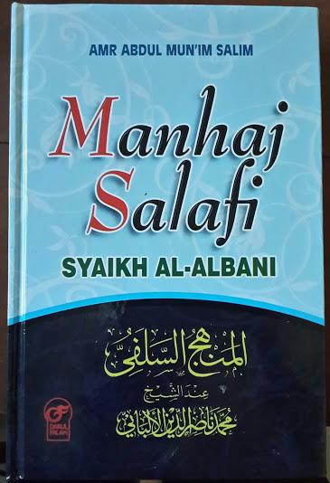 Buku Manhaj Salafi Syaikh Al-Albani Cover