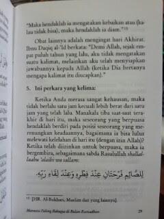 Buku Saku Manusia Paling Bahagia Di Bulan Ramadhan Isi
