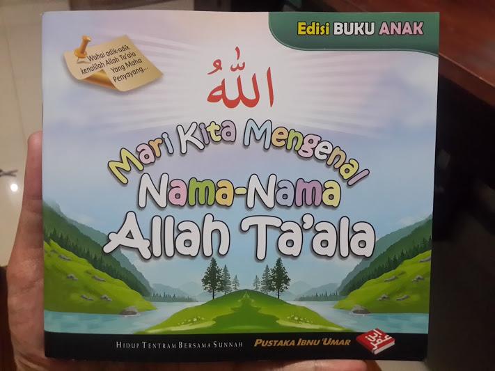 Buku Anak Mari Kita Mengenal Nama-Nama Allah Ta'ala Cover