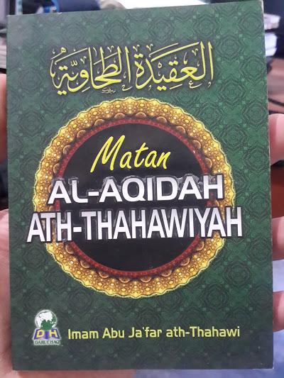 Buku Saku Matan Al-Aqidah Ath-Thahawiyah Cover