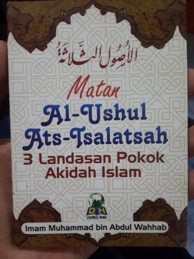 Buku Saku Matan Al-Utshul Ats-Tsalatsah Cover