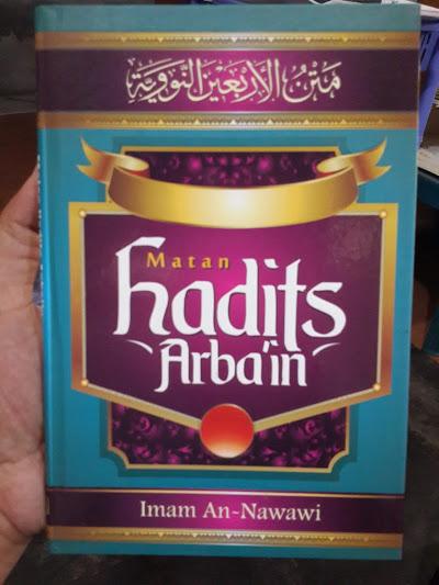 Buku Matan Hadits Arbain Imam an-Nawawi Cover
