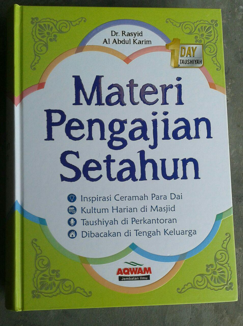 Buku Materi Pengajian Setahun cover 2