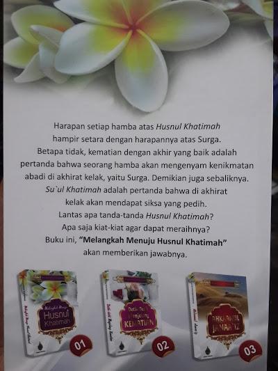 Buku Melangkah Menuju Husnul Khatimah Cover 2