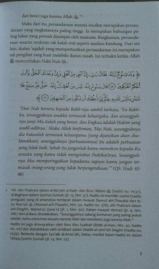Buku Memelihara Ikatan Ukhuwah isi 3