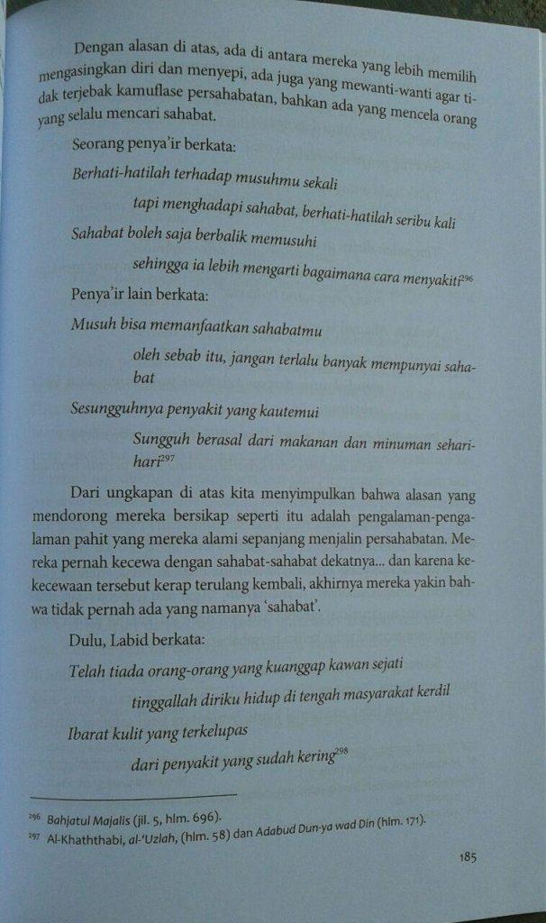 Buku Memelihara Ikatan Ukhuwah isi