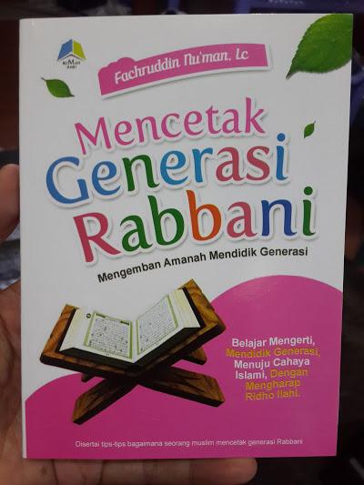 Buku Mencetak Generasi Rabbani Pendidikan Generasi Cover