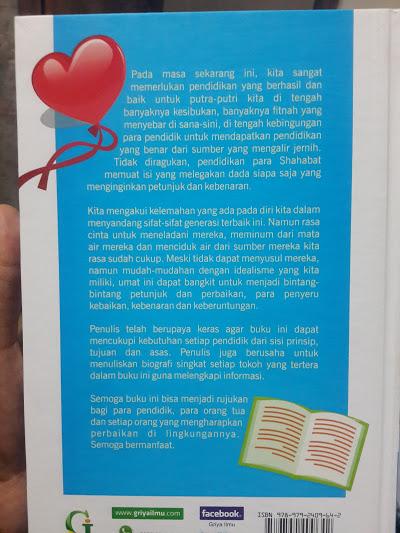 Buku Mendidik Generasi Ala Shahabat Nabi Cover 2