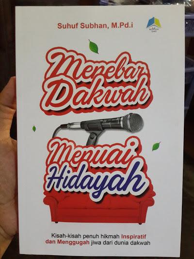 Buku Menebar Dakwah Menuai Hidayah Cover
