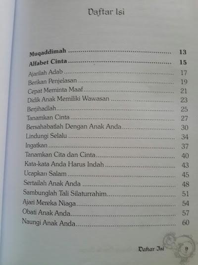 Buku Mengantar Orang Tua Ke Surga Daftar Isi