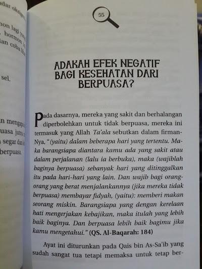 Buku Mengapa Kita Harus Berpuasa Isi