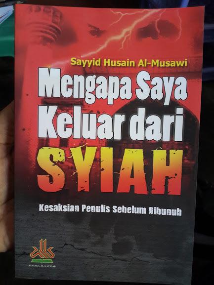 Buku Mengapa Saya Keluar Dari Syiah Cover