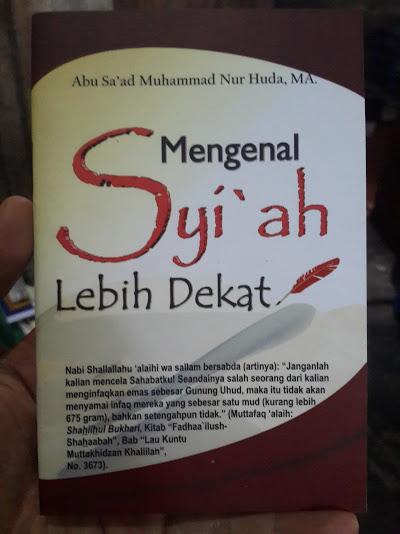Buku Saku Mengenal Syi'ah Lebih Dekat Cover