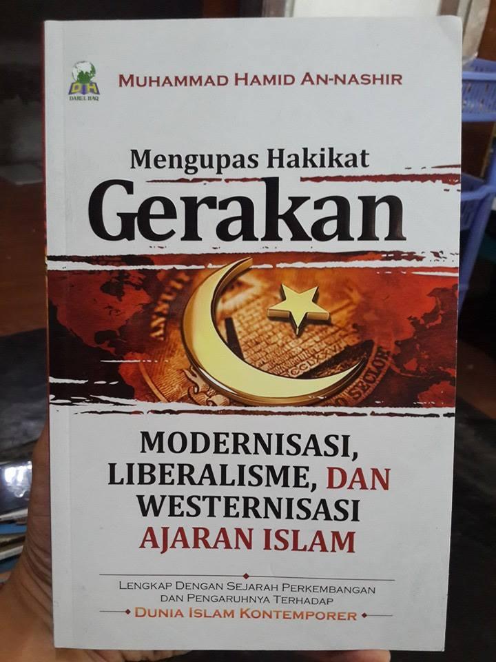 Buku Mengupas Gerakan Modernisasi Liberalisme Ajaran Islam Cover