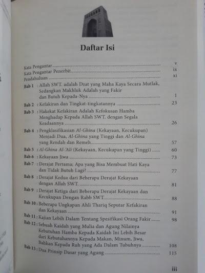 Buku Menjadi Ahli Ibadah Yang Kaya Daftar Isi