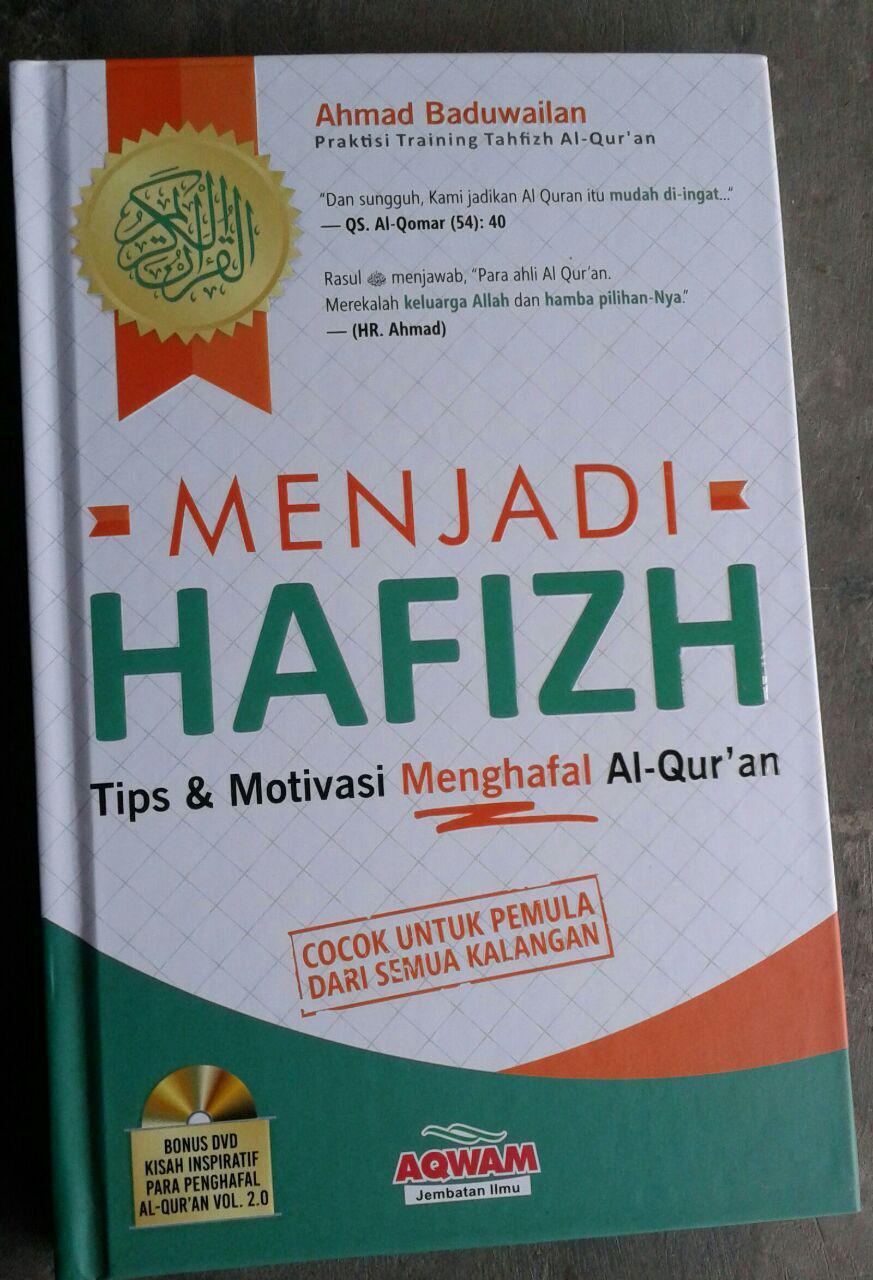 Buku Menjadi Hafidz Tips & Motivasi Menghafal Al-Quran & DVD cover 2