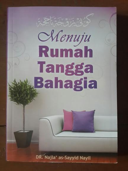 Buku Menuju Rumah Tangga Bahagia Cover