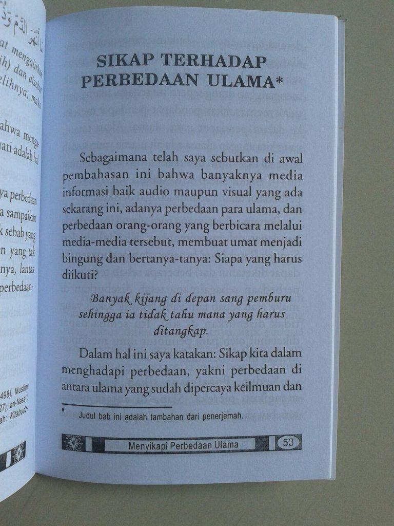 Buku Saku Menyikapi Perbedaan Ulama isi 2