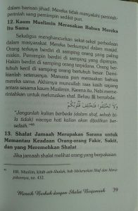 Buku Meraih Berkah Dengan Shalat Berjamaah isi 4
