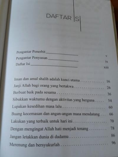 Buku Meraih Kebahagiaan Tanpa Batas Daftar Isi