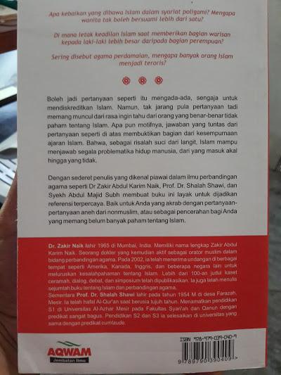 Buku Mereka Bertanya Islam Menjawab Cover 2
