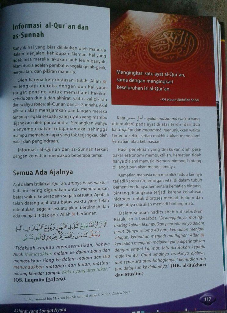 Buku Mesin Waktu Al-Quran Menelusuri Masa:Lalu, Kini,& Depan isi 5